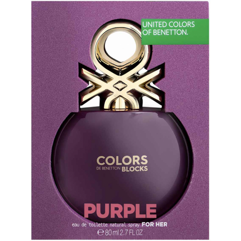 BNT Colors Purple Collector EDT 80ml Spray