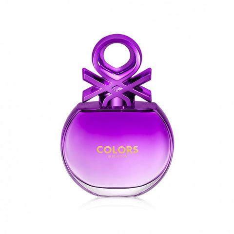 BENETTON COLORS PURPLE WOMEN EDT 80ML SPRAY