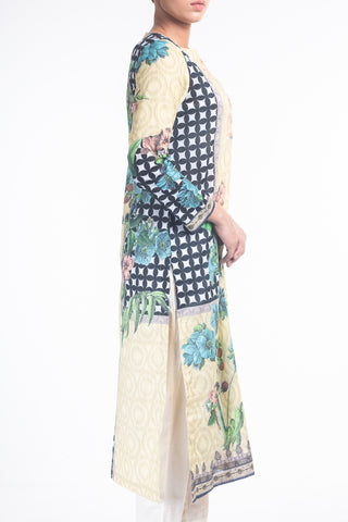 Women's Floral Digital Printed 3pcs Lawn Set