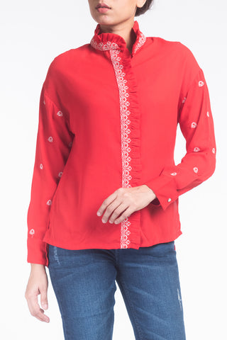 W C SHIRT RED