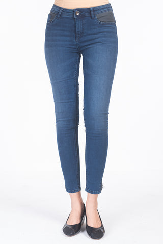 Women's Denim Pants INDIGO RYTHME