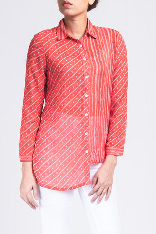 Women's Printed Casual Shirt
