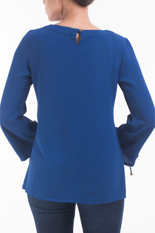 Women's Evening Top ROYAL BLUE