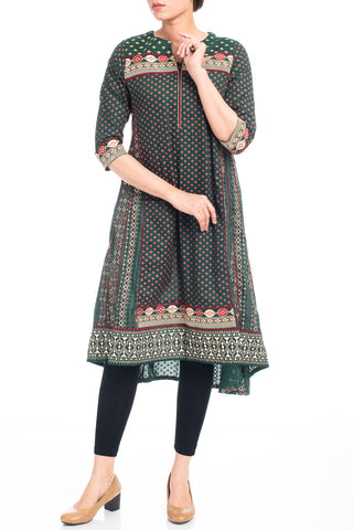 Women's Embroidered Kurti