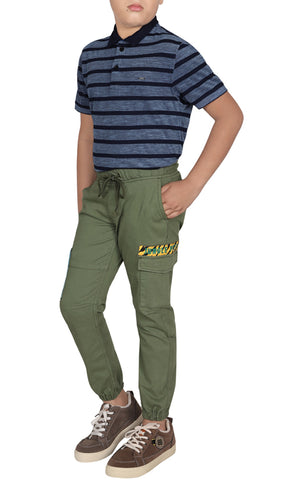 Junior Boys Twill Trouser (10-15 Years Old)