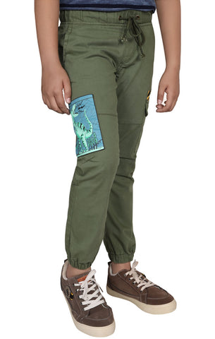 Junior Boy's Twill Trouser OLIVE