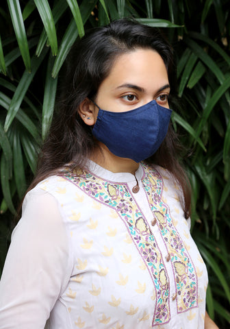 Denim Fashion Mask