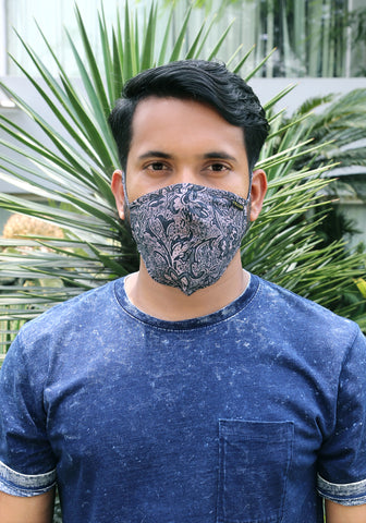 Printed Woven Fashion Mask