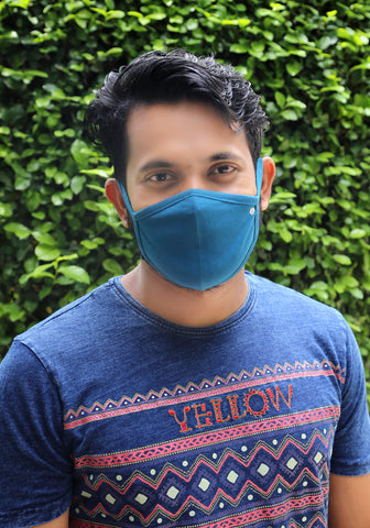 Breathable Knit Fashion Mask GREEN