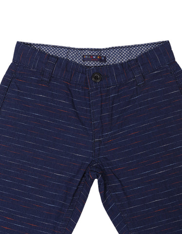 Boys Short Pant NAVY STRIPE