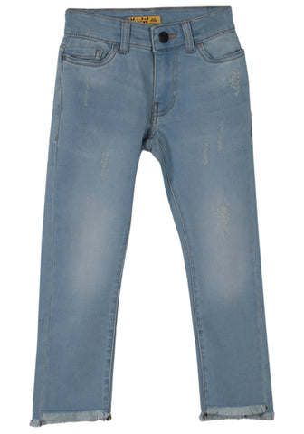 G DENIM PANT LT BLUE