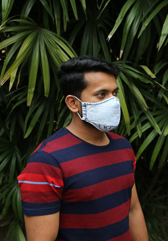 Super Bleach Denim Mask