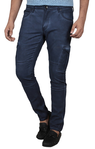 M. FASHION TROUSER FADED NAVY