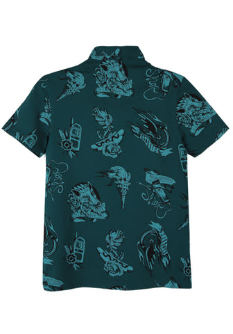 J Boys Polo DEEP TEAL