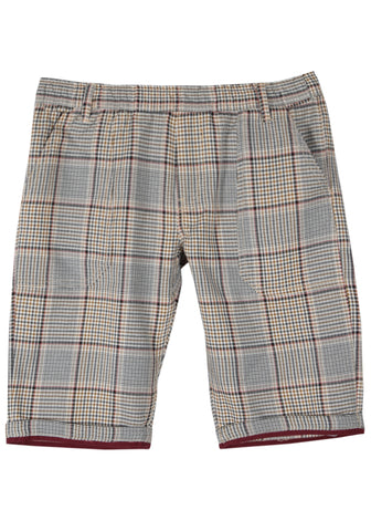 Prince Bottom WHITE BLACK CHECK