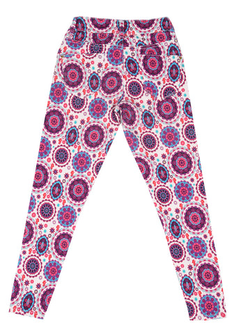 Digital Printed Girls Twill Bottom (10-15 Years Old)