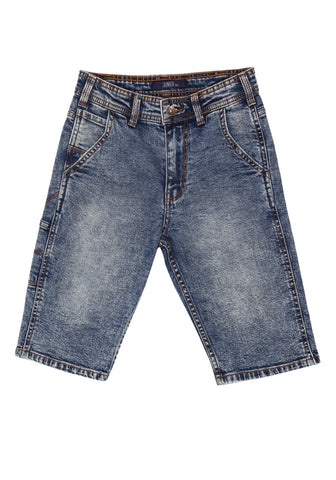 Junior Boys Denim Shorts (10-15 Years Old)