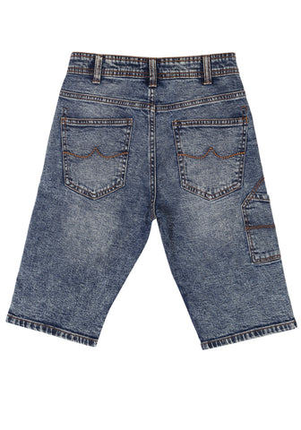 J BOYS SHORTS LT BLUE