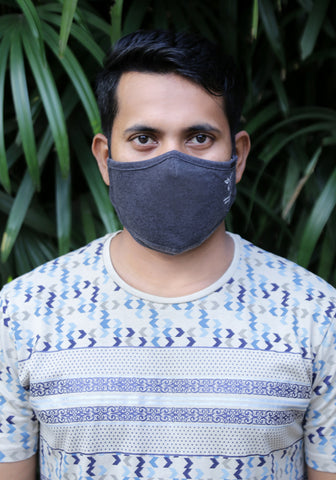 Technical 3-Layer Breathable Knit Fashion Mask