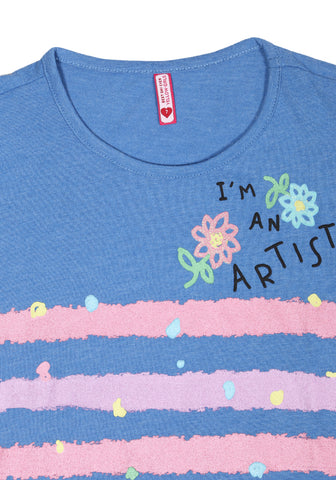 Girls T-Shirt BLUE