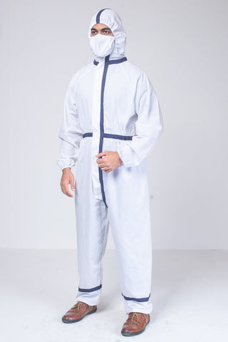 PPE Coverall White
