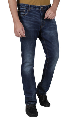 Men's Dark-Washed Damon Jeans