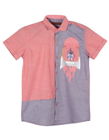 J BOYS T-SHIRT INDIGO