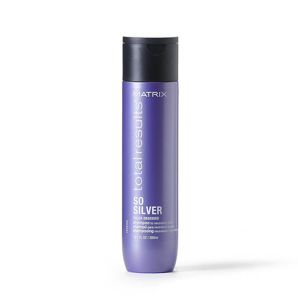 SO SILVER PURPLE SHAMPOO FOR BLONDE AND SILVER HAIR