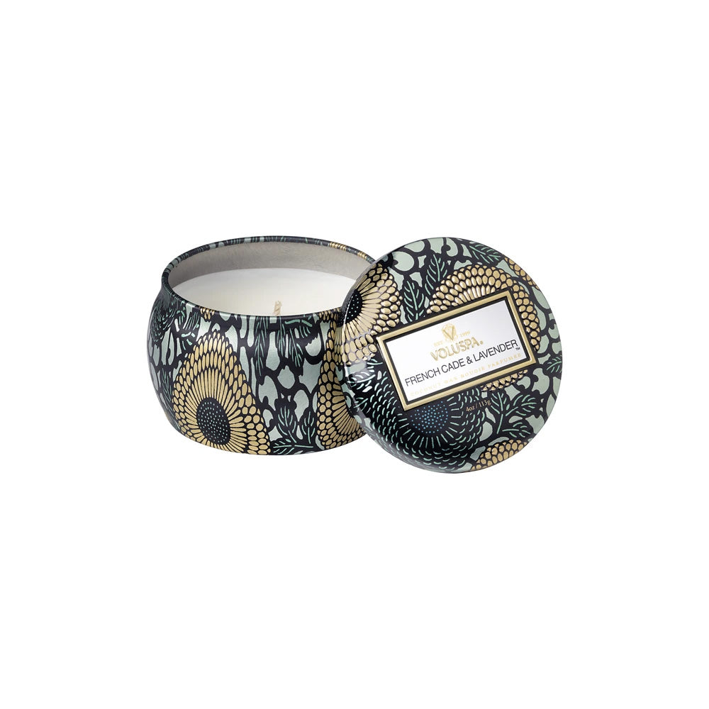 FRENCH CADE LAVENDER - PETITE TIN CANDLE - Ace Beauty Center
