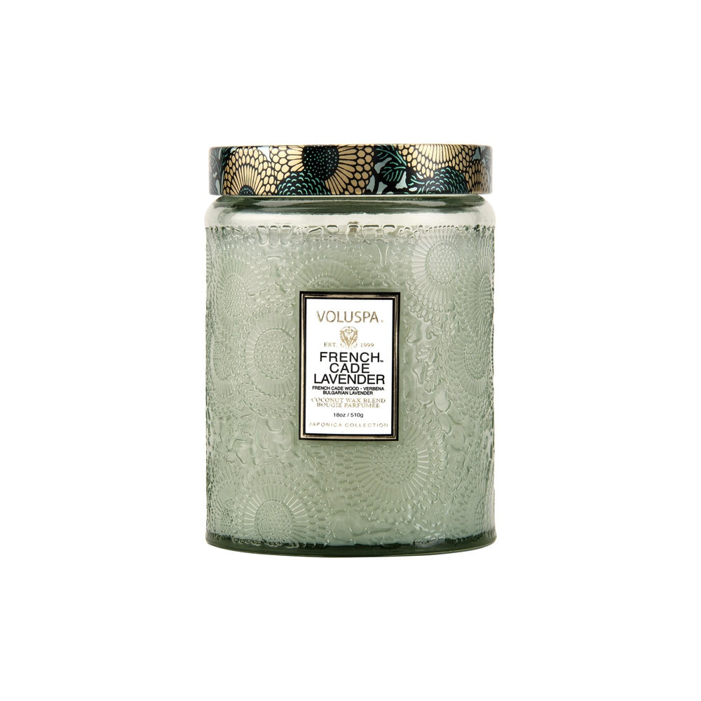 FRENCH CADE LAVENDER - LARGE JAR CANDLE - Ace Beauty Center