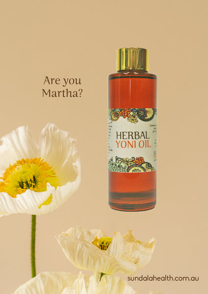 Herbal Yoni Oil - Are You Martha?