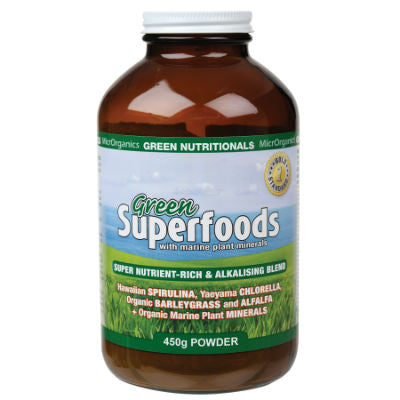 Green Nutritionals Green Superfoods Powder 120g