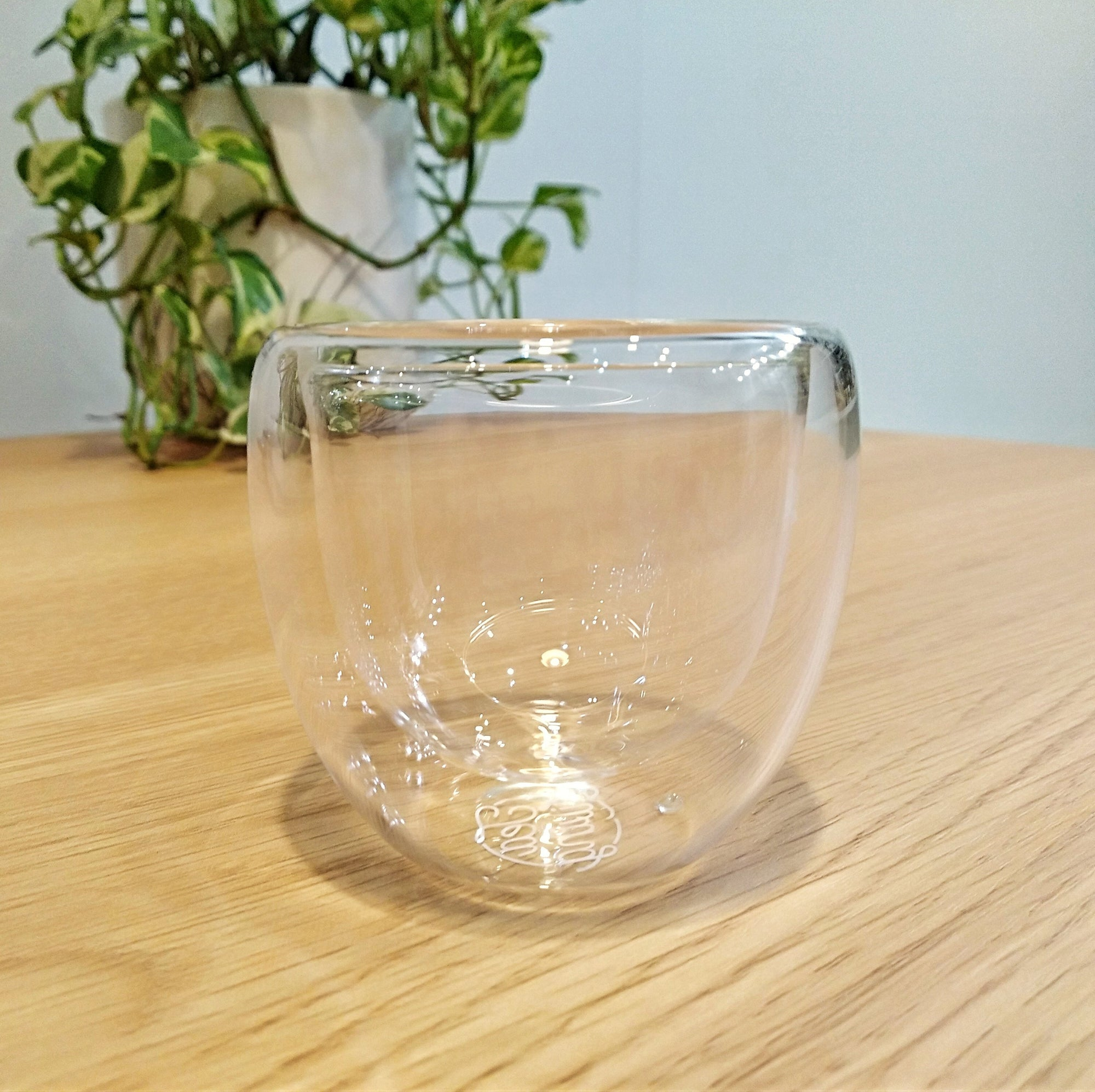 Double Wall Glass Teacup 80mL