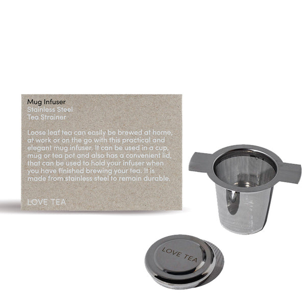 Love Tea Mug Infuser Stainless Steel Tea Strainer