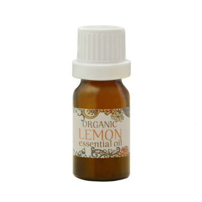 Organic Lemon Essential Oil 10mL