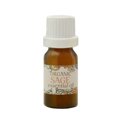 Organic Sage Essential Oil 10mL