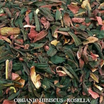 Herbal Tea - Organic Hibiscus (Rosella)