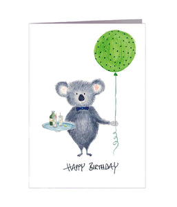 Geburtstagskarte | Happy Birthday | Koala