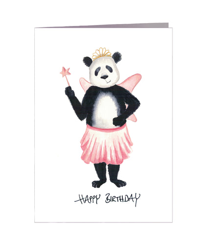 Geburtstagskarte | Happy Birthday | Panda