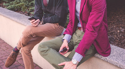 3 Stylish Men's Chinos Outfits