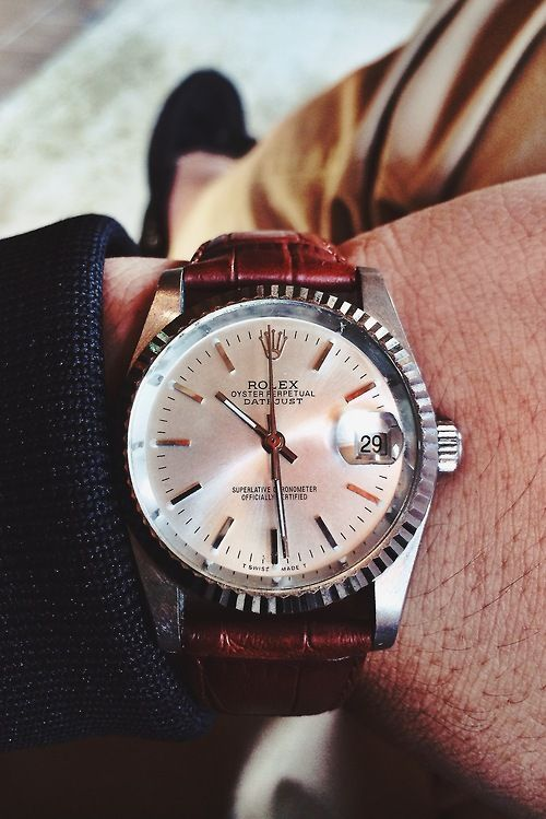 this watch is the icing on the cake