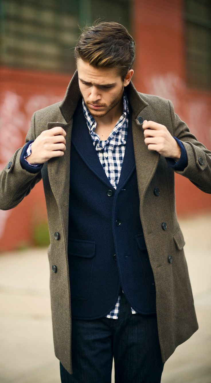 full sleeve shirts should fit comfortably with your trench coat