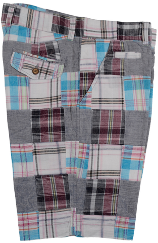Patch Madras<br>Flat Front