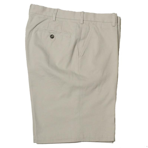 Vintage 1946 Stretch Twill Short<br>Stone<br>Flat Front<br>Regular Rise