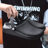 2019 Men Sandals Crocks LiteRide Hole Shoes Crok Rubber Clogs
