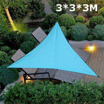 UV Protection Triangle Canopy Tent Sunshade