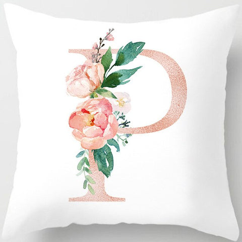 1PC 45x45cm Room Decoration Letter Pillow