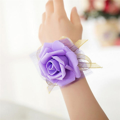 2019 New Bridesmaid Wrist Corsage