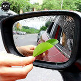2Pcs Car Rear Mirror Protective Film Anti Fog