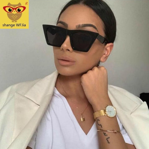 2019 new brand sunglasses Square glasses